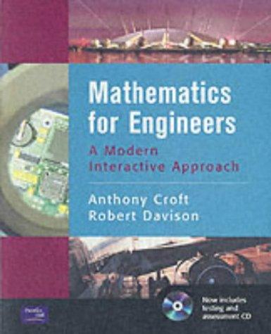 9780130333483: Mathematics for Engineers