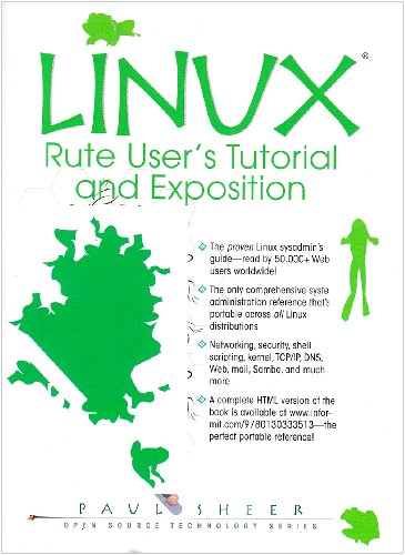 9780130333513: LINUX: Rute User's Tutorial and Exposition (Book Only)