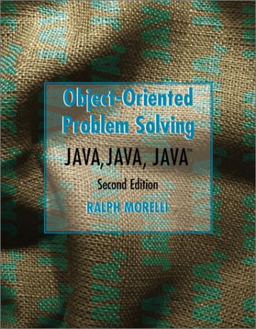 9780130333704: Java, Java, Java Object-Oriented Problem Solving (2nd Edition)