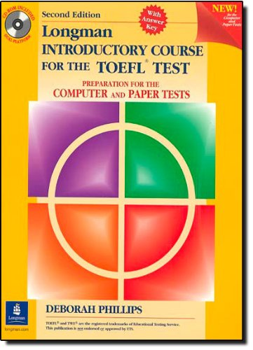 9780130333995: Longman Introductory Course for the TOEFL Test: Preparation for the Computer and Paper Tests, with CD-ROM and Answer Key,: Student Book and CD-Rom with Answer Key