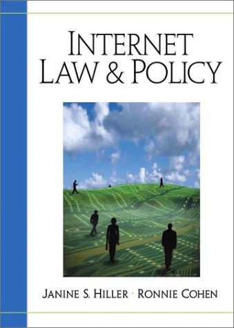 9780130334282: Internet Law and Policy