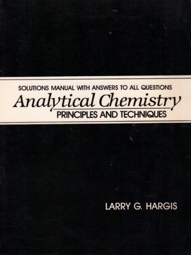 9780130335159: Analytical Chemistry