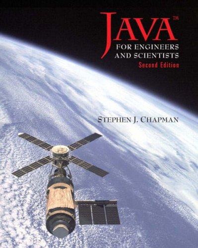 9780130335203: Java for Engineers and Scientists