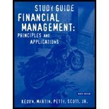 9780130336279: Financial Management: Principles and Applications Study Guide