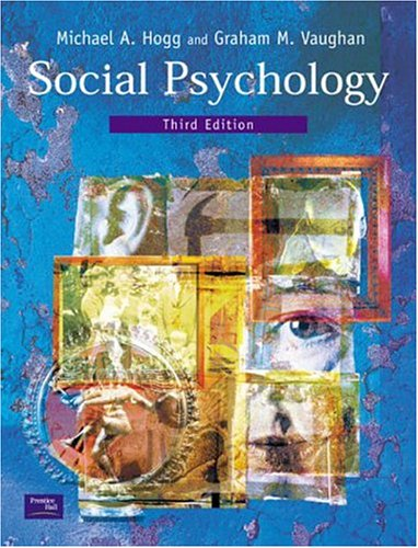 9780130336323: Social Psychology, 3rd Ed.