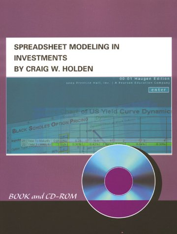 9780130336507: Spreadsheet Modeling in Investments (Book and CD-ROM)