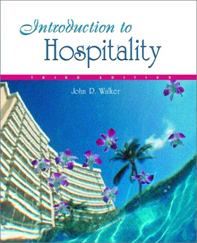 9780130336606: Introduction to Hospitality (3rd Edition)