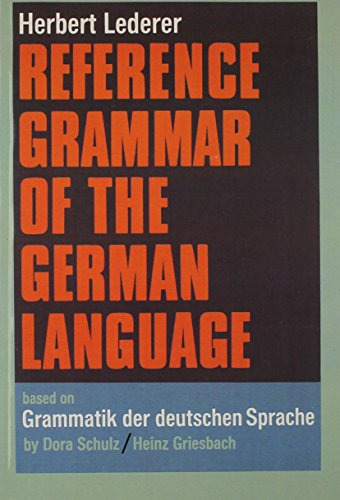 9780130337054: Reference Grammar of the German Language (English and German Edition)