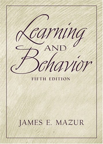 9780130337153: Learning and Behavior (5th Edition)
