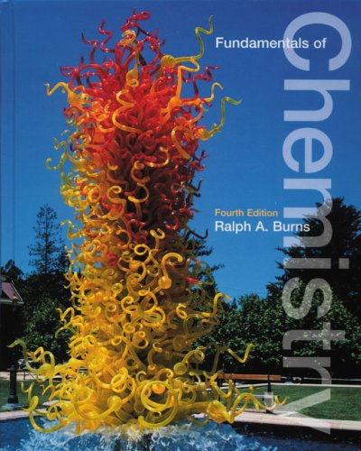 9780130337191: Fundamentals of Chemistry (4th Edition)