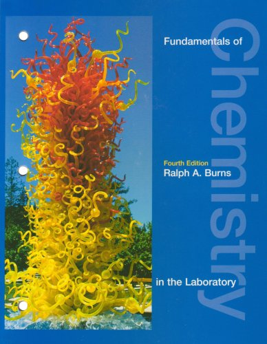 9780130337269: Fundamentals of Chemistry in the Laboratory (4th Edition)
