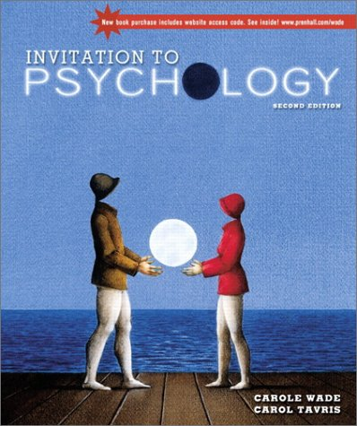 9780130338174: Invitation to Psychology with Video Classics CD (2nd Edition)
