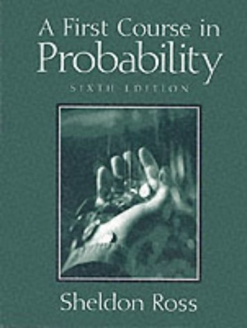 9780130338518: A First Course in Probability, 6th Ed