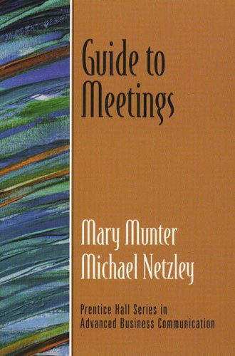 9780130338563: Guide to Meetings (Against the Clock)