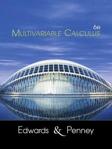 9780130339676: Multivariable Calculus (6th Edition)