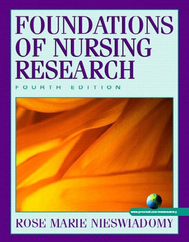 9780130339911: Foundations of Nursing Research
