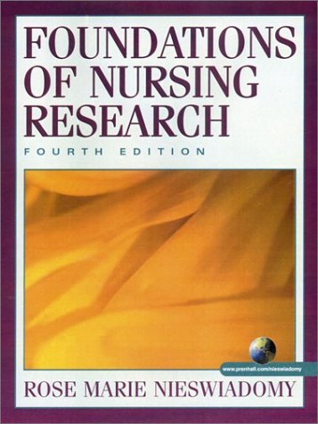 9780130339911: Foundations of Nursing Research (4th Edition)