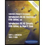 9780130340313: Lab Manual: Introductory DC / AC Electronics