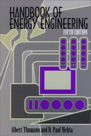 9780130340610: Handbook of Energy Engineering (5th Edition)