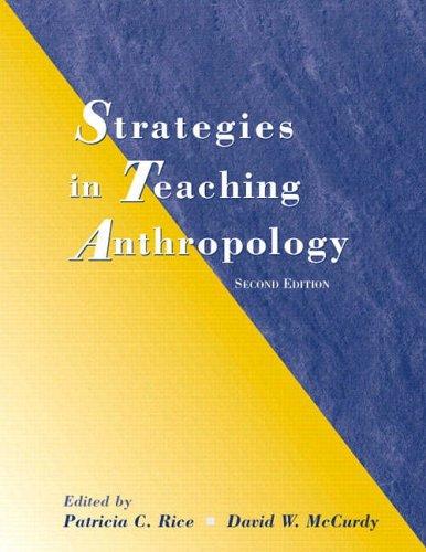 9780130340702: Strategies in Teaching Anthropology