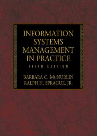 9780130340733: Information Systems Management in Practice (5th Edition)