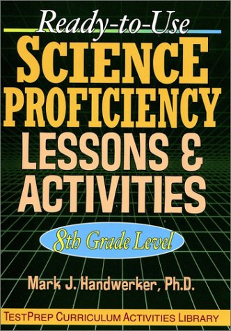 9780130340986: Ready-to-Use Science Proficiency Lessons & Activities: 8th Grade Level