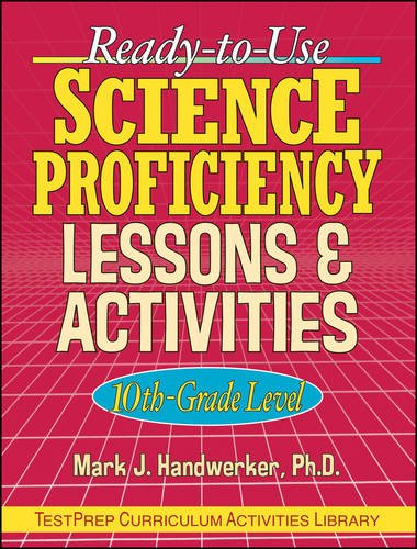 9780130340993: Ready-to-Use Science Proficiency Lesson & Activities, 10th Grade Level