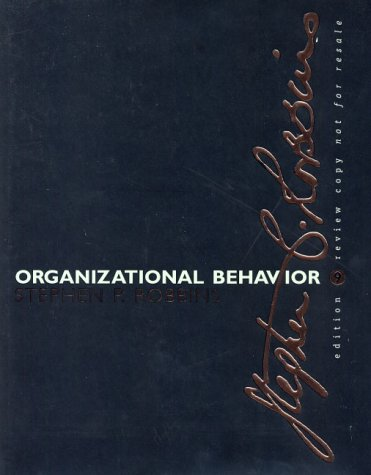 9780130341051: Organizational Behaviour, 9th Ed.