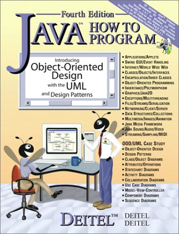 Java How to Program (4th Edition) (9780130341518) by Harvey M. Deitel; Paul J. Deitel