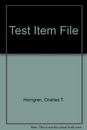 9780130342270: Test Item File