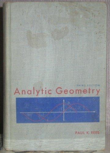 9780130342645: Analytic geometry