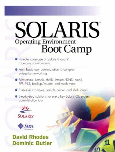 9780130342874: Solaris Operating Environment Boot Camp