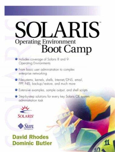 9780130342874: Solaris Operating Environment Boot Camp
