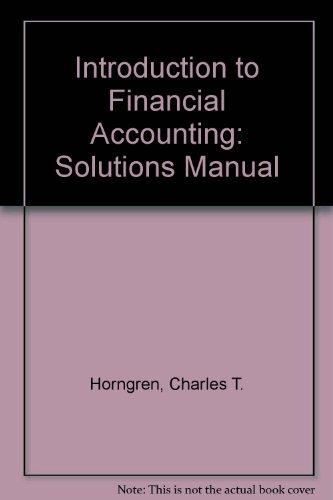 9780130342928: Solutions Manual