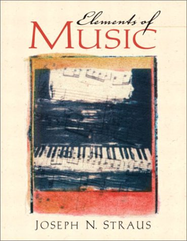 9780130343413: Elements of Music