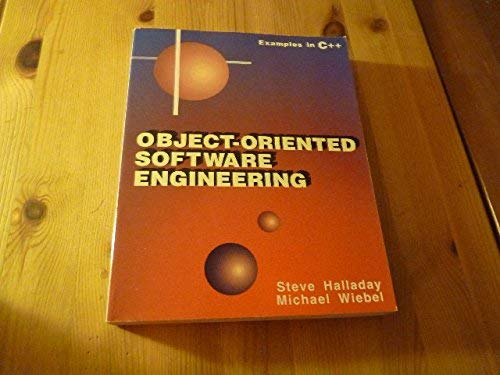 9780130344892: Object-Oriented Software Engineering/Examples in C++
