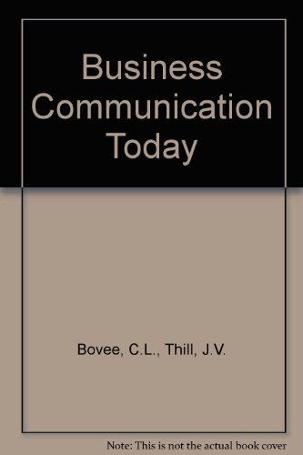 9780130346285: Business Communication Today