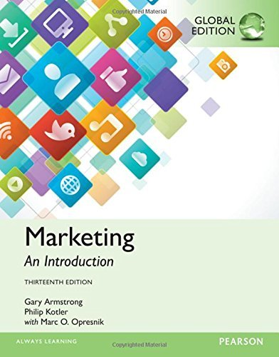 9780130347749: Marketing: An Introduction