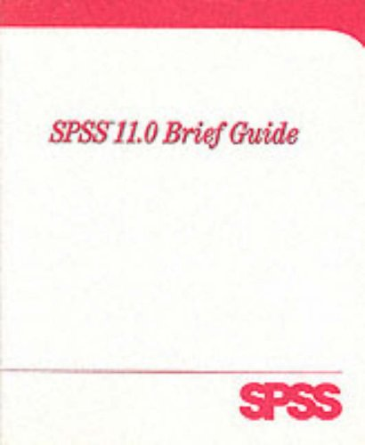 9780130348470: SPSS 11.0 for Windows Brief Guide