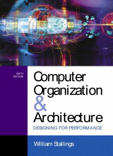 9780130351197: Computer Organization and Architecture: Designing for Performance