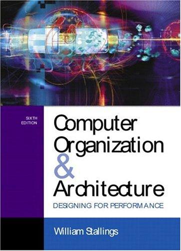 9780130351197: Computer Organization and Architecture