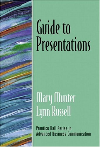 9780130351326: Guide to Presentations (Guide to Series in Business Communication)