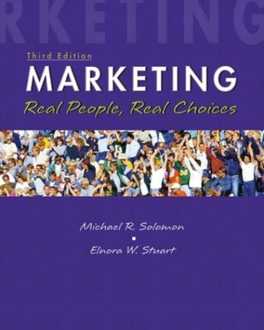 9780130351340: Marketing: Real People, Real Choices (3rd Edition)
