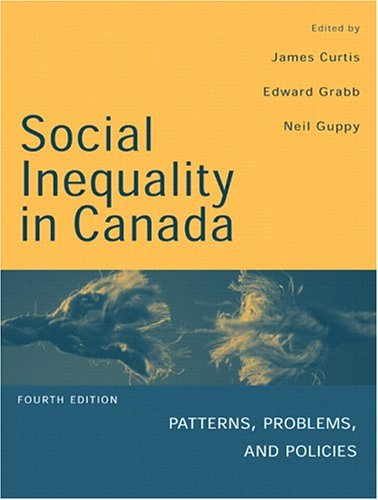 9780130351500: Social Inequality in Canada: Patterns, Problems and Policies