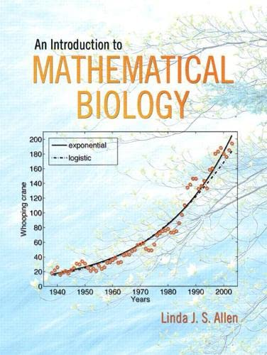 9780130352163: An Introduction to Mathematical Biology