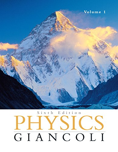 9780130352569: Physics: Principles with Applications, Volume I: Chapters 1-15, 6th Edition
