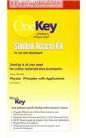 9780130352613: OneKey Blackboard, Student Access Kit, Physics: Principles with Applications