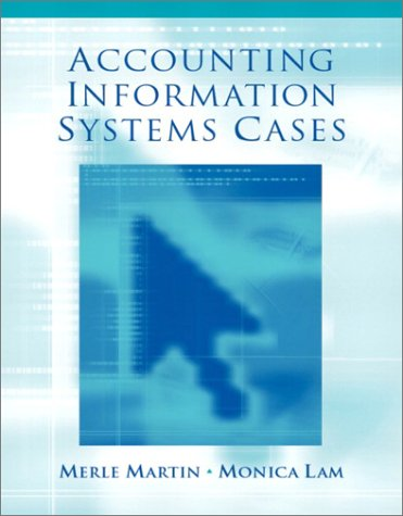 9780130352897: Accounting Information Systems: Cases and Readings