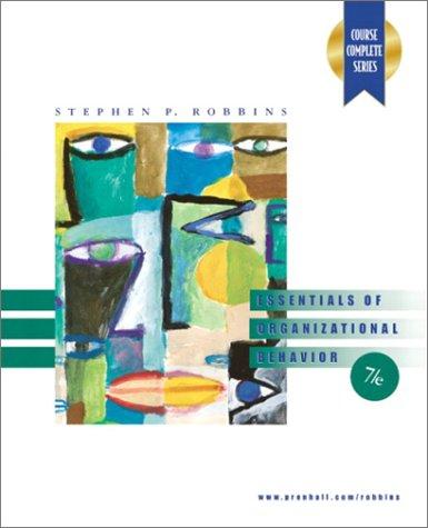 9780130353092: Essentials of Organizational Behavior