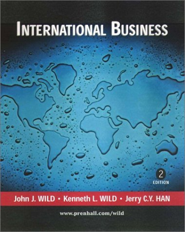 International Business: An Integrated Approach: John J. Wild,